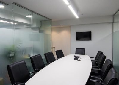 CAS Linear LED Light Office Renovation