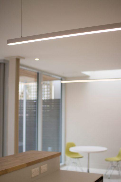 ATLAS Home Renovation Suspended Linear Led Light