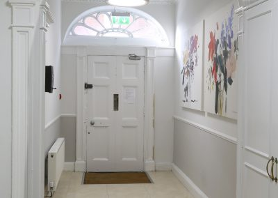Entrance Hall Suspended Round Panel LED Light