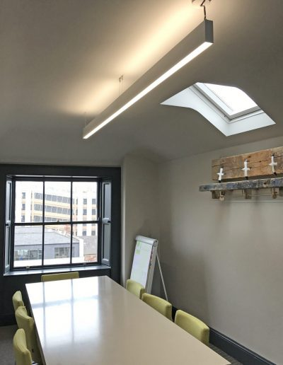 HEKA Office Renovation Suspended Linear Led Light