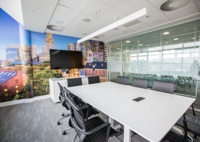 HEKA Boardroom Fit Out Linear LED Profile