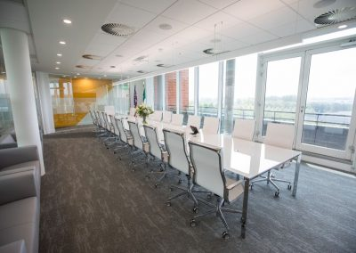 HEKA Meeting Room Fit Out Linear LED Profile