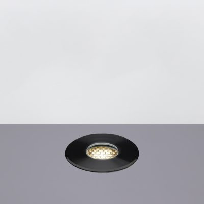 Mira 55 Honeycomb In Ground Led Garden Light